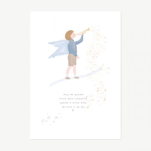 Anjo da guarda Menino