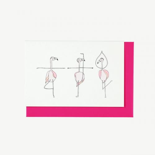 Flamingos' Ballet