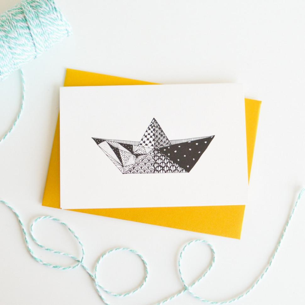 Boat Origami
