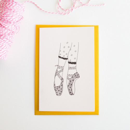 Ballerina feet stars