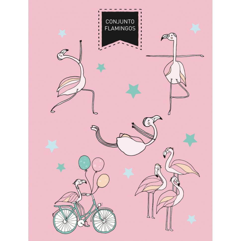 Flamingos Set